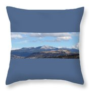 Cibola Mountains Throw Pillow