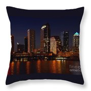 Cigar City Throw Pillow