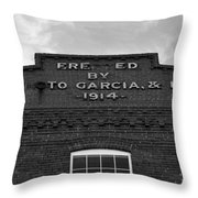 Cigar Factory 1914 Throw Pillow