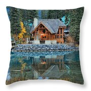 Cilantro Reflections Throw Pillow