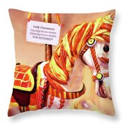 Cinnamon Throw Pillow