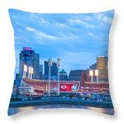 Cincinnati All Star Game  Throw Pillow