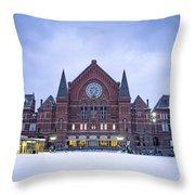 Cincinnati Music Hall  Throw Pillow