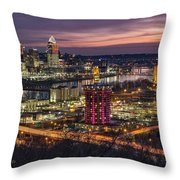 Cincinnati Sunrise Throw Pillow