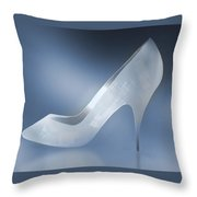 Cinderella's Slipper Throw Pillow