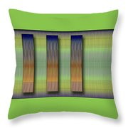 Cinetism - Abstract Throw Pillow