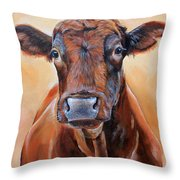 Cinnabar    Throw Pillow by Laura Carey