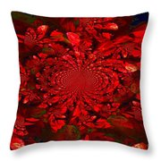 Cinnamon Candy Throw Pillow