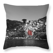 Cinque Terre 3b Throw Pillow