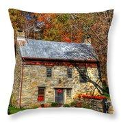 Circa 1776 Stone House Throw Pillow