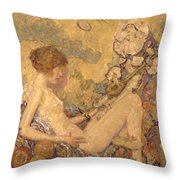 Circe And Anatol 1926 Throw Pillow