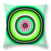 Circle Motif 229 Throw Pillow