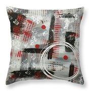 Circle Of Design  Throw Pillow