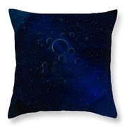 Circular Designs Throw Pillow