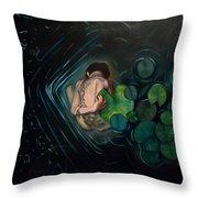 Circular Symetry Throw Pillow