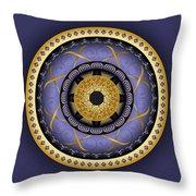 Circularium No. 2555 Throw Pillow