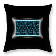 Circularpadronframed Throw Pillow