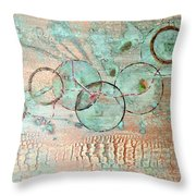 Threads Of Possibility Throw Pillow
