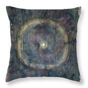Circumpunct Throw Pillow