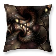 Circumstance And Puzzlement Throw Pillow