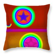 Circus Balls Throw Pillow