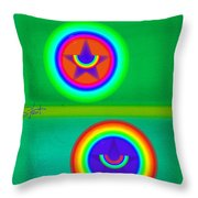Circus Costume Throw Pillow