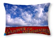Circus Day Throw Pillow