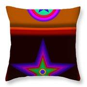 Circus Star Throw Pillow
