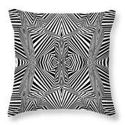 Circus Stripes Throw Pillow