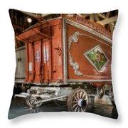 Circus Wagon Throw Pillow