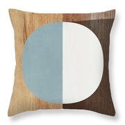Cirkel Trio- Art By Linda Woods Throw Pillow