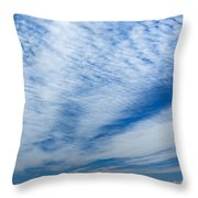 Cirrocumulus Throw Pillow