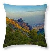 Chiscos Mountain Park Throw Pillow