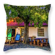 Citadel Cafe Throw Pillow