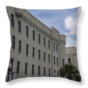 Citadel Campus Throw Pillow