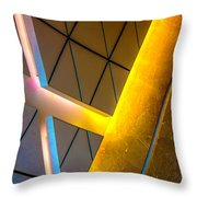 Citadel Center Dearborn And Adams Dsc5940 Throw Pillow