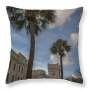 Citadel Grounds Throw Pillow
