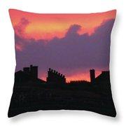 Citadel Hill At Sunrise Throw Pillow