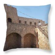 Citadel In Akko Throw Pillow