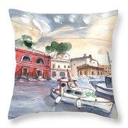 Citadel Of Minorca 03 Throw Pillow