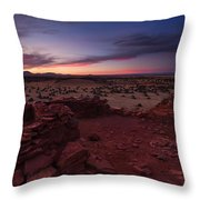 Citadel Sunset Throw Pillow by Mike  Dawson