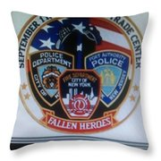 Citadel Three Throw Pillow