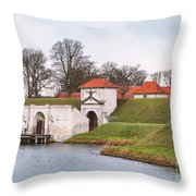 Citadell In Copenhagen Denmark Throw Pillow