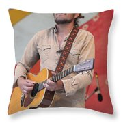 Citizen Cope Clarence Greenwood Throw Pillow