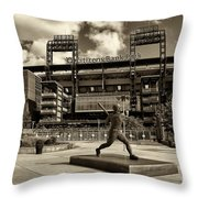 Citizens Park 1 Throw Pillow by Jack Paolini