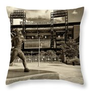 Citizens Park 2 Throw Pillow