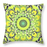 Citrus Shoe Dance Throw Pillow