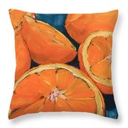 Citrus Special Throw Pillow