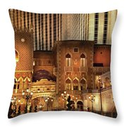 City - A Touch Of Sicily Throw Pillow
