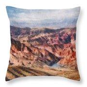 City - Arizona - Grand Hills Throw Pillow
